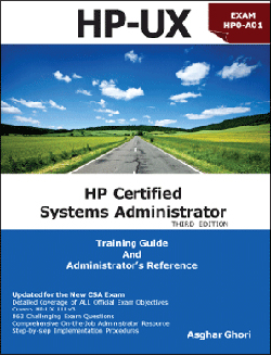 HP Certified Systems Adminstrator THIRD EDITION